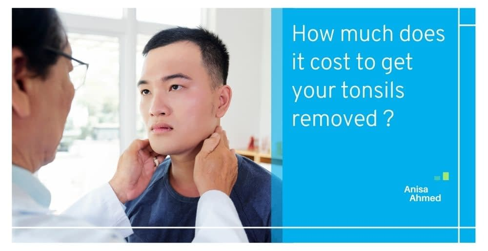 How much does it cost to get your tonsils removed